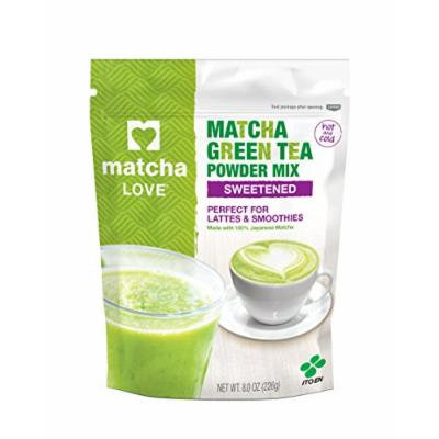Matcha Love Green Tea Sweetened Powder, 8 Ounce
