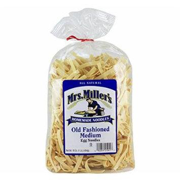 Mrs. Millers Old Fashioned Medium Noodles 16oz. Bag (3 Bags)