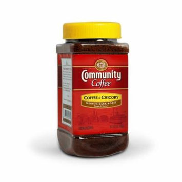 Community Coffee and Chicory Instant Coffee, 7 Ounce (Pack of 4)