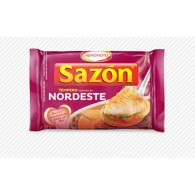 Ajinomoto Seasoning , Sazon Sabores do Nordeste - 60gr 2.11oz (2 Pack)