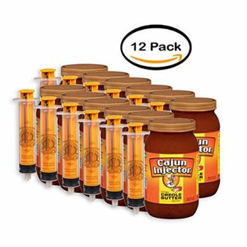 PACK OF 12 - Cajun Injector Creole Butter Recipe Injectable Marinade, 16 fl oz