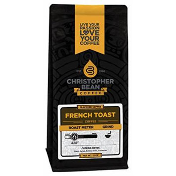 Christopher Bean Coffee French Toast Whole Bean Coffee, 12 Ounce