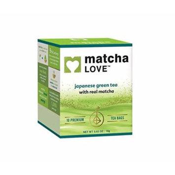 Ito En Matcha Love Tea Bags, 10 Count (Pack of 10)