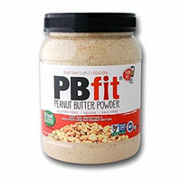 PB Fit Peanut Butter Powder (GLUTEN FREE) (90%less fat than traditional peanut butter)-Special, 4 Pack ( 120 Ounce Total )