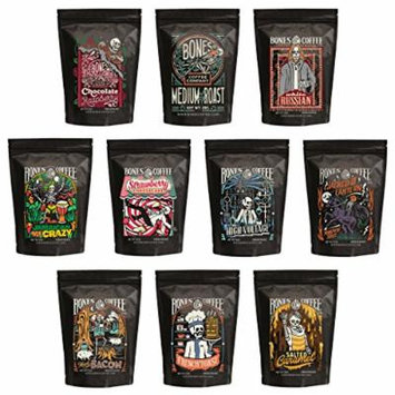 Variety 10-Pack Whole Bean Coffee Sampler