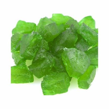 Paradise Green Pineapple Wedges Candied Fruit Glaze 1 pound