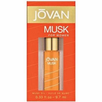 Jovan Musk Oil For Women 0.33 oz (Pack of 4)
