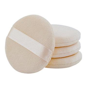 Ewandastore 3pcs Circular Design Cotton Powder Puff Dry Powder Puff Makeup Cosmetic Powder Puff