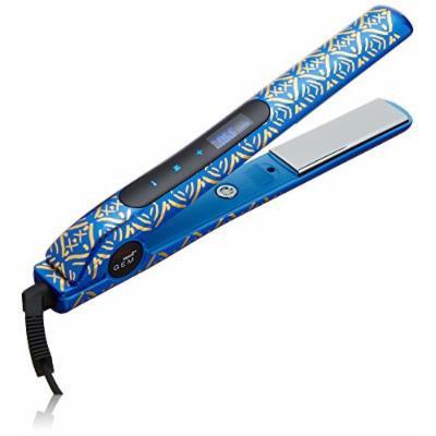 CHI Smart Gemz Volumizing Zironium Titanium Hairstyling Iron With Clips and Bag, Cobalt Blue Metallic