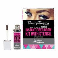 Cherry Blooms Instant Fiber Brow with Stencil, Espresso, .11 oz