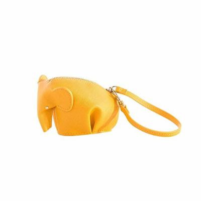 Shiraleah Elephant Coin Pouch, Yellow