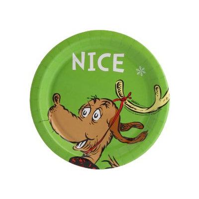Birthday Express Dr. Seuss Grinch Nice Dessert Plate (24)