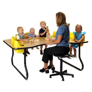 8 Seat Toddler Activity Table [height: height-14in.]