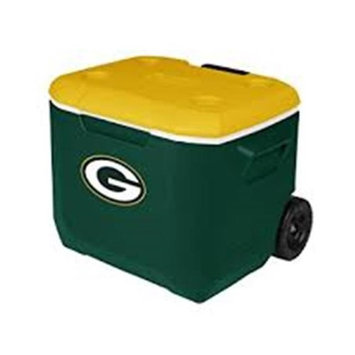 John Deere TS3006001PK22Q 22 qt Lit Cooler with Green & Yellow