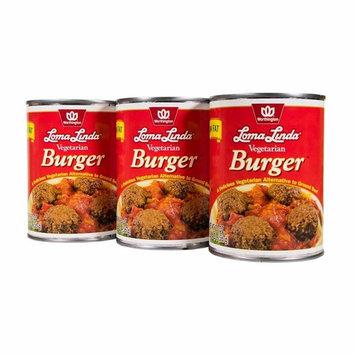 Loma Linda - Vegetarian - Vegetarian Burger (20 oz.) (Pack of 3) - Kosher