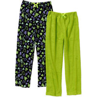 Girls' Coral Fleece 2 Pack Sleep Pants