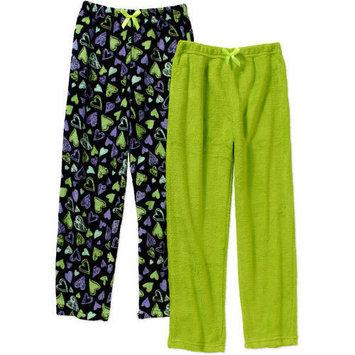 Girls' Coral Fleece 2 Pack Sleep Pants