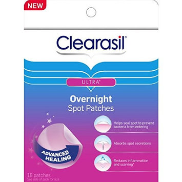 Clearasil Stubborn Acne Control 5in1 Pimple Patch,18 Count (Pack of 7)