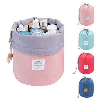 POLYHYMNIA Cosmetic Jewelry Organizer Wash Toiletry Makeup Travel Drawstring Storage Bag Case