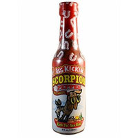 Ass Kickin' Scorpion Pepper Hot Sauce (Pack of 3)