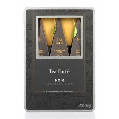 Tea Forte Noir Medium Gift Tin Box