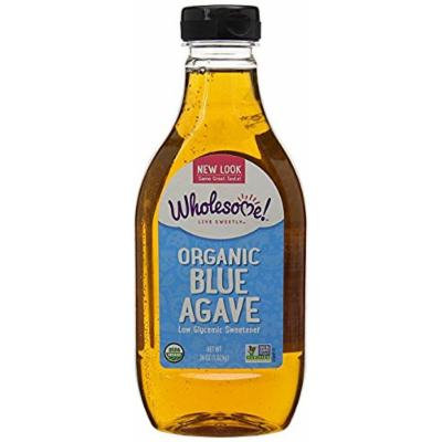 Wholesome Sweeteners Organic Blue Agave-36 oz, Value Size 1 Pack ( 2 Count Total )