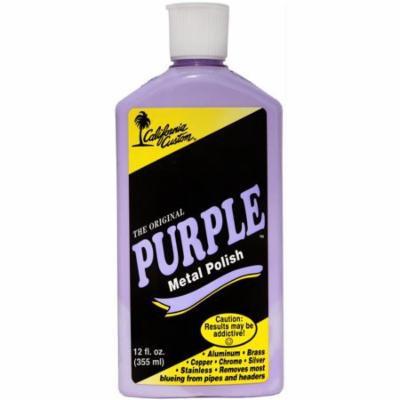 California Custom PMP12 Purple Metal Polish, 12 oz.