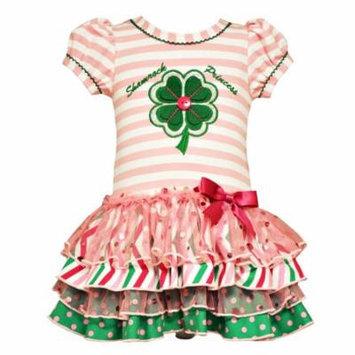 Bonnie Jean Baby Girls Shamrock Princess St Patricks Dress 0-3 months