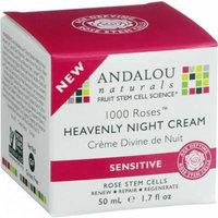 Andalou Naturals HG1548429 1.7 oz Heavenly Night Cream, 1000 Roses