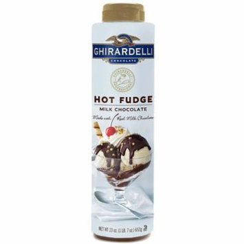 Ghirardelli Hot Fudge Squeeze Bottle (23 oz.)- Pack of 2