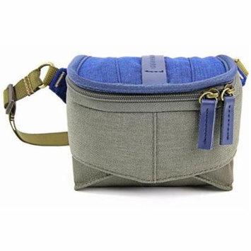 Vanguard VEO Travel 9H Pouch for a Compact System Camera with Pancake Lens, 1.32lbs Capacity, Blue & Khaki