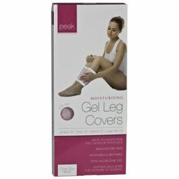 Peak Personal Care Moisturizing Therapy Massaging Gel Leg Covers