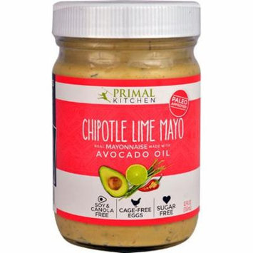 Primal Kitchen Chipotle Lime Mayo -- 12 oz pack of 1
