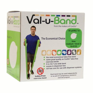 Val-U-Band Latex Free Exercise and Fitness Band - 50 yard