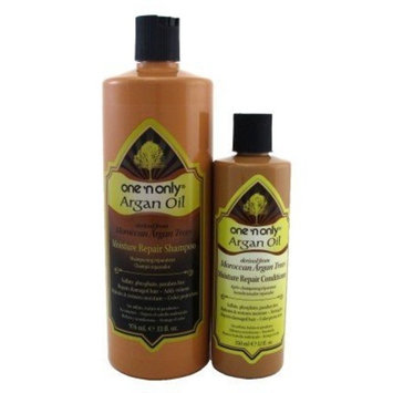 ONE'N ONLY ARGAN OIL SHAMPOO 33 FL OZ + COND 12OZ COMBO