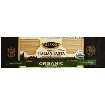 ALESSI 268446 16 oz. Organic Linguine Italian Pasta Made With Bronze Dies