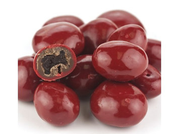 Beulah's Candyland Red Chocolate Covered Dried Cherries 1 pound dried cherries