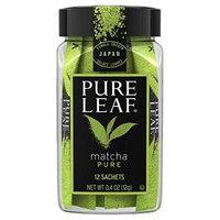 Pure Leaf Matcha Pure Tea Bags 12sachets , total 0.4oz, pack of 1