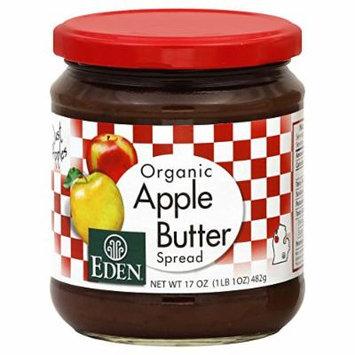 Eden Apple Butter, Organic 17.0 OZ(Pack of 2)