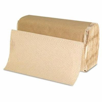 GENERATIONS CONSUMER Singlefold Paper Towels, 9 x 9 9/20, Kraft, 250/Pack (1507)