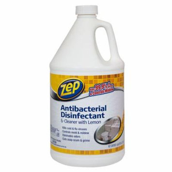 Zep Commercial Anti-Bacterial Disinfectant and Cleaner with Lemon (1gal.) - (Pack of 2)