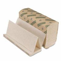 Boardwalk Boardwalk Green Folded Towels, Multi-Fold, Natural White, 9 1/8 x 9 1/2 - Includes 16 packs of 250 sheets each.