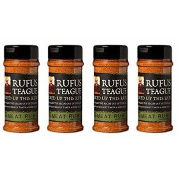 Rufus Teague Meat Rub 6.5oz (Pack of 4)