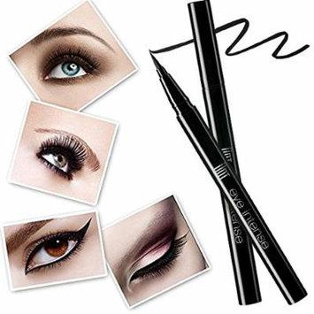 Liquid Waterproof Eye Liner Pen, UNT Long-wearing Extra Smudge-resistant Black Eyeliner W Free Gift