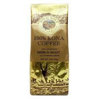 Hawaii Royal Kona Coffee 7 oz. Ground 100% Pure Kona Medium