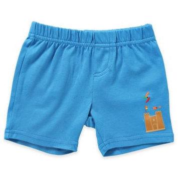 Rockin' Baby Rockin Baby Boys Blue Sand Castle Printed Shorts