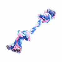 16cm Pet Dog Braided Knot Cotton Rope String Cord (Random Color)