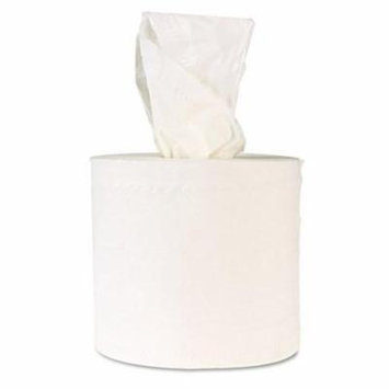 Windsoft Center-Flow Perforated Paper Towel Roll, 8 x 13 1/2, White, 660' - Includes six per case.