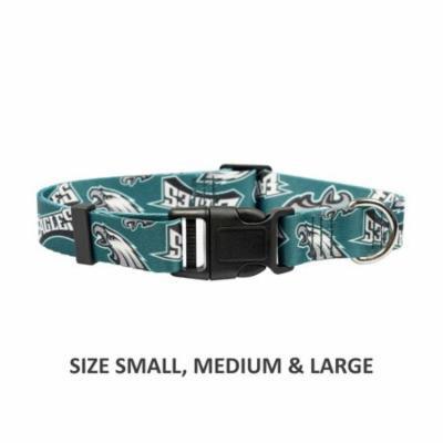 Philadelphia Eagles Pet Nylon Collar - Medium