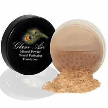Glam Air Mineral Foundation, Natural Perfection Powder Foundation Compare with Bare Minerals and MAC Mineralize (LIGHT)